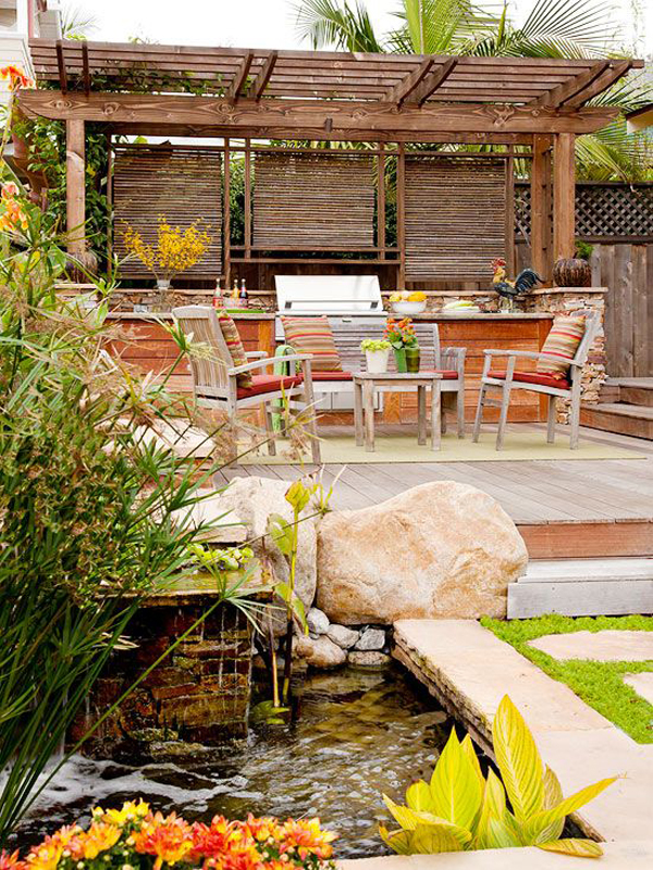 wonderful-dream-deck-with-small-pond-garden