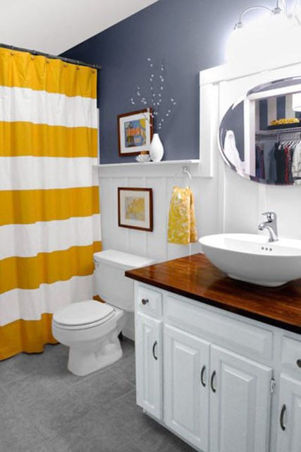 yellow-small-bathroom-designs