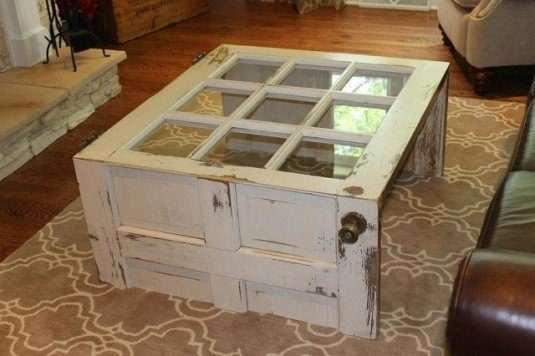 10 ideas of how to reuse old doors (3)