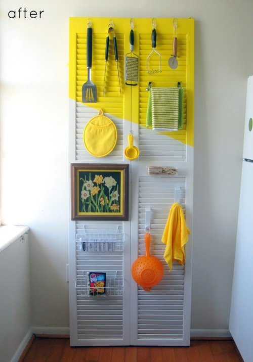 10 ideas of how to reuse old doors (7)