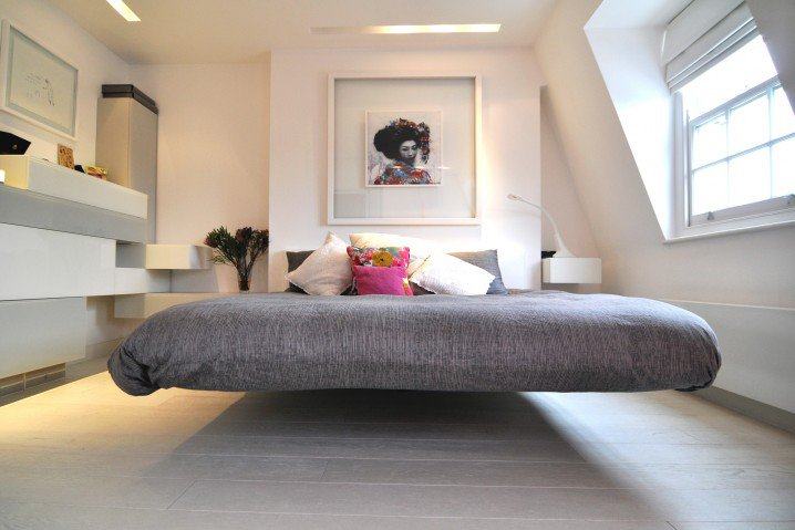 12 hanging and floating bed ideas (10)