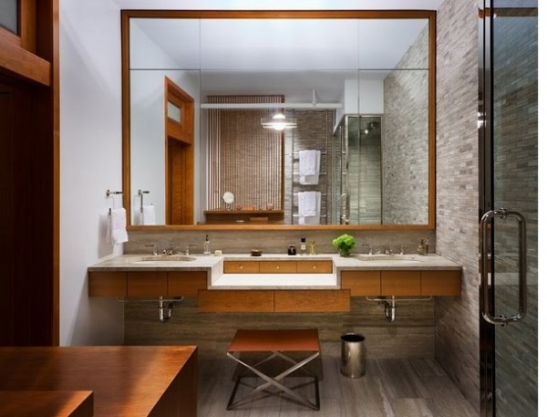 15 ideas to make bathroom looks bigger (11)