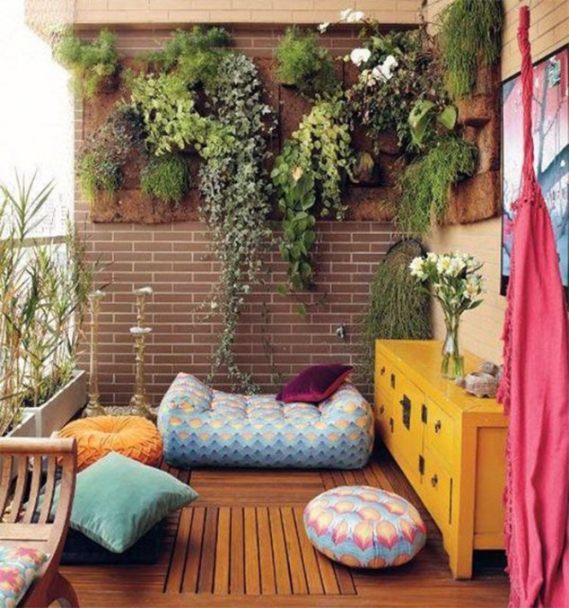 15 mini porch garden ideas for apartment (10)
