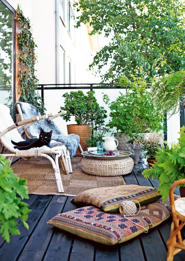 15 mini porch garden ideas for apartment (15)