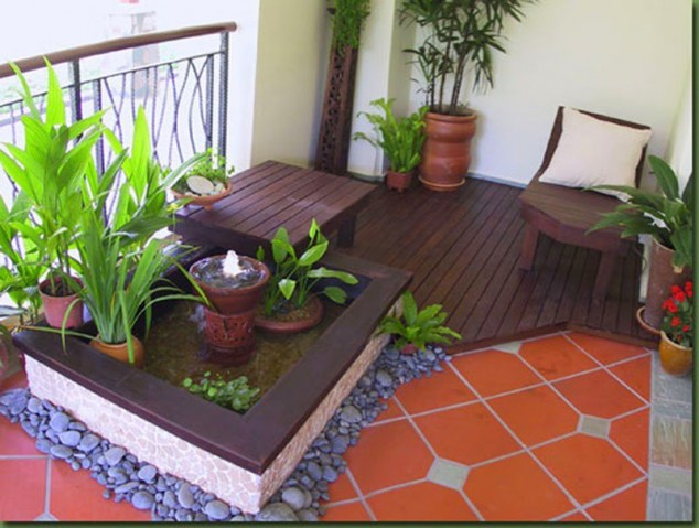 15 mini porch garden ideas for apartment (3)