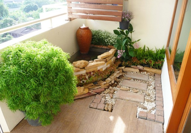 15 mini porch garden ideas for apartment (7)