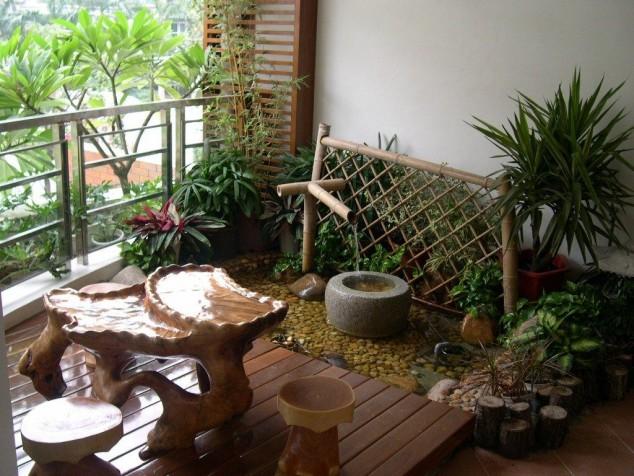 15 mini porch garden ideas for apartment (8)