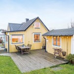 บ้านคอทเทจโทนสีสวย ดีไซน์แบบแยกหลัง ความสวยงามของบ้านไม้