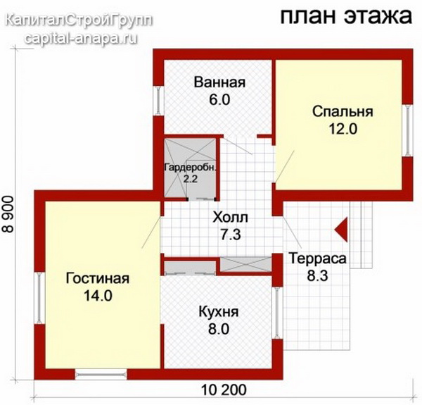 2 bedroom small family house (7)