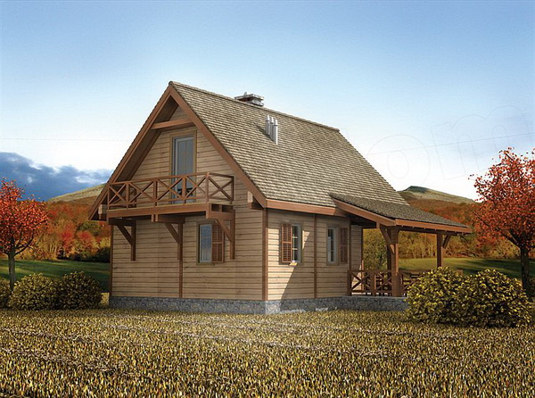 2 storey earth tone wooden cottage (2)