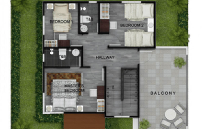 2 storey modern terrace house (7)