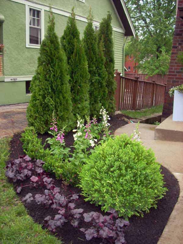 21 privacy screen in backyard garden ideas (10)
