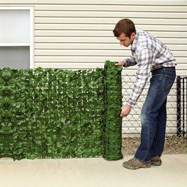 21 privacy screen in backyard garden ideas (12)
