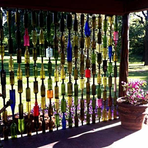 21 privacy screen in backyard garden ideas (14)