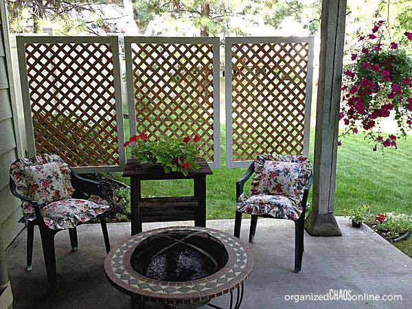 21 privacy screen in backyard garden ideas (9)