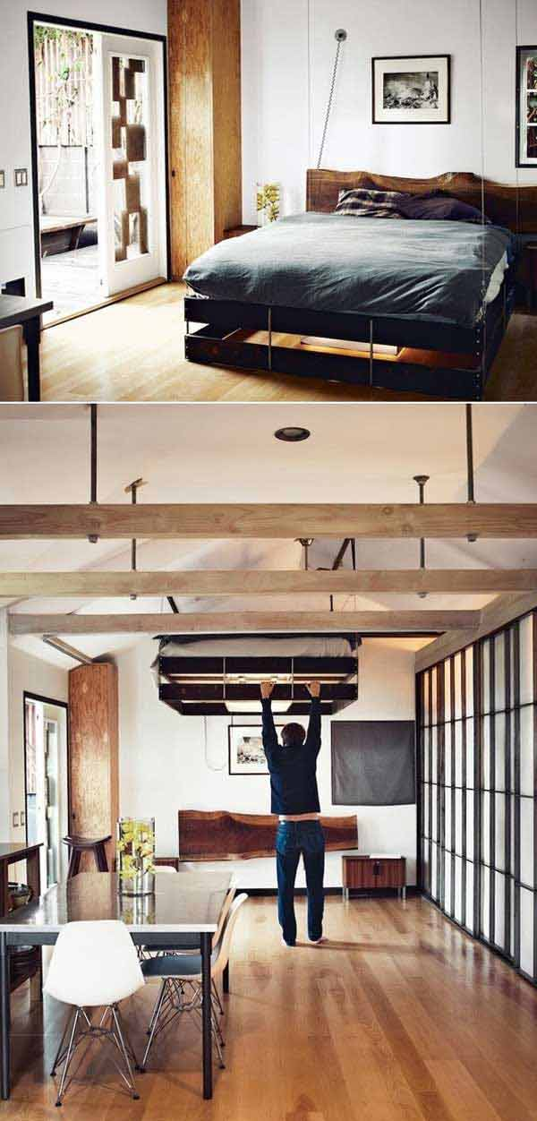 24 creative ideas for house space saving (11)