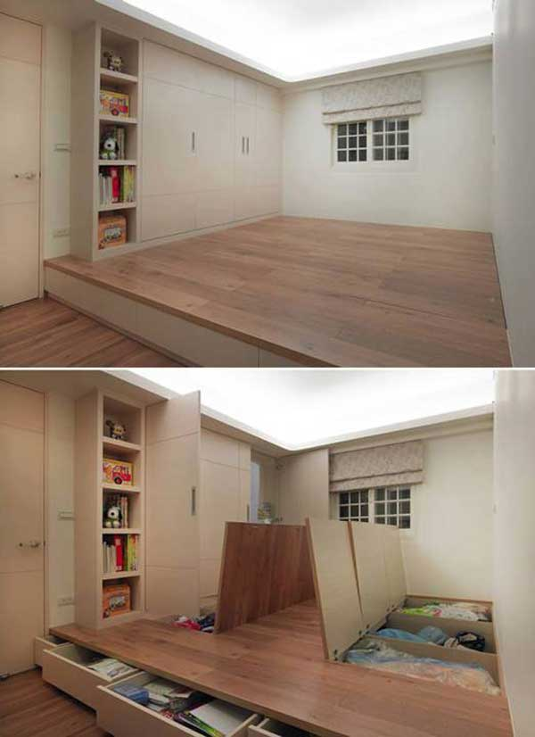 24 creative ideas for house space saving (13)