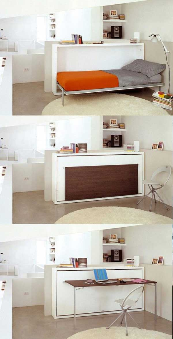 24 creative ideas for house space saving (18)