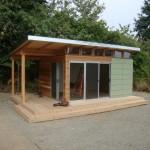 บ้านตากอากาศขนาดเล็ก ออกแบบเรียบง่าย ในงบประมาณที่ประหยัด