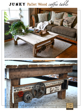 50 diy pallet table ideas (1)
