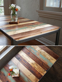 50 diy pallet table ideas (11)