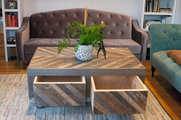 50 diy pallet table ideas (26)