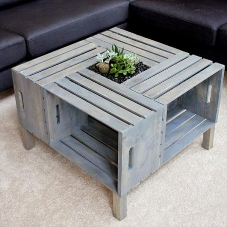 50 diy pallet table ideas (28)
