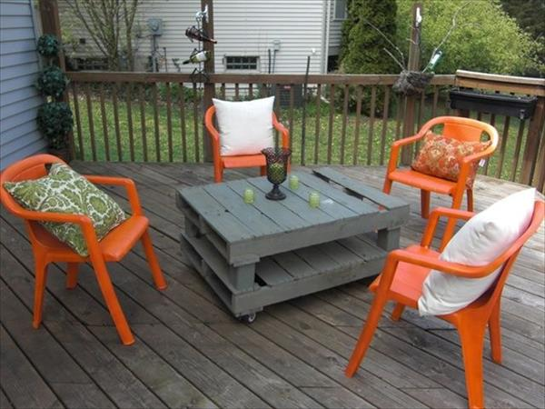 50 diy pallet table ideas (33)