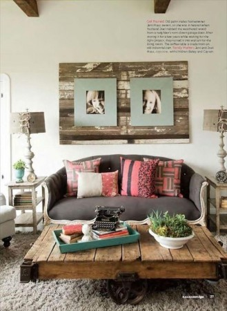 50 diy pallet table ideas (35)
