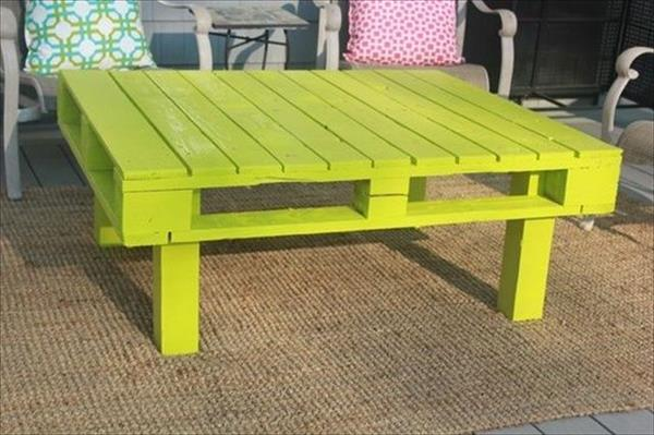50 diy pallet table ideas (37)