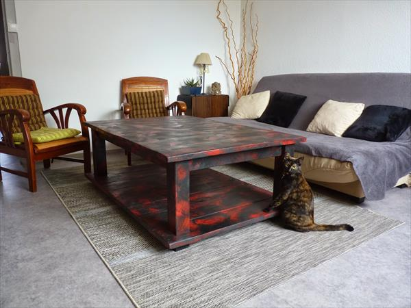 50 diy pallet table ideas (42)