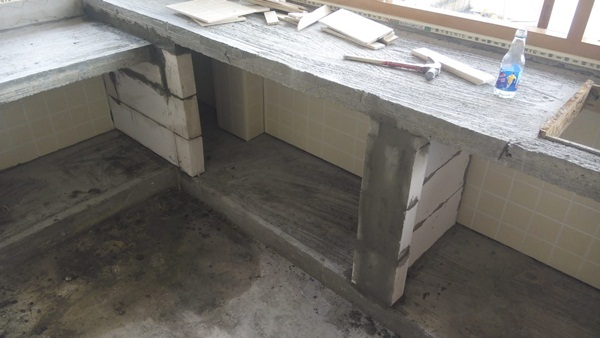 DIY kitchen concrete counter review (18)