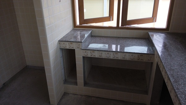 DIY kitchen concrete counter review (24)