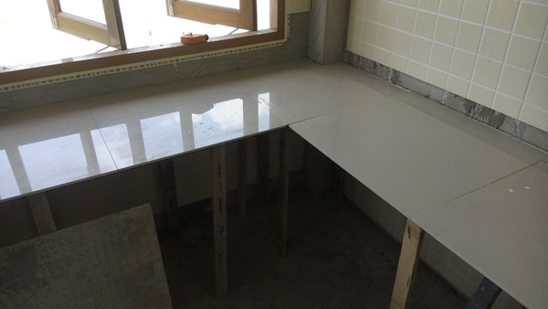 DIY kitchen concrete counter review (8)