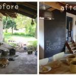 รีโนเวทห้องครัวเก่า ให้กลายเป็นครัวเปิดด้วยวัสดุจากธรรมชาติ