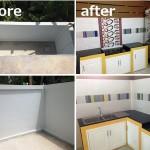 Review : ต่อเติมห้องครัวหลังบ้าน บนพื้นที่คับแคบเพียง 3 x 4 เมตร