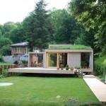 บ้านตากอากาศสไตล์โมเดิร์น ดีไซน์รูปทรงกล่องเรียบง่าย ความสุขในการพักผ่อนที่อิงแอบไปกับธรรมชาติ