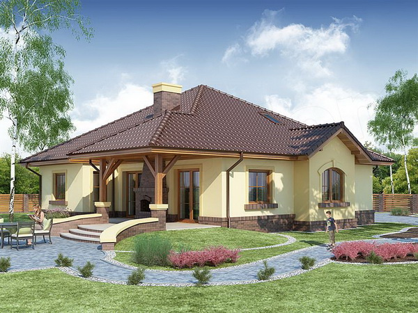 country hip roof house (1)