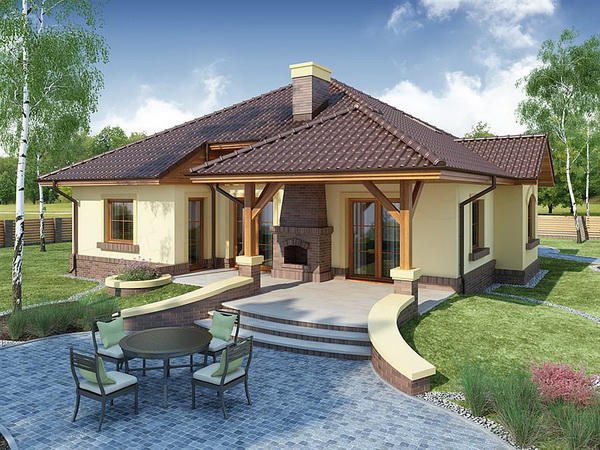 country hip roof house (2)