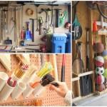 15 ไอเดียการรังสรรค์พื้นที่เก็บของ ในห้องเก็บของและโรงจอดรถ