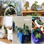 21 ไอเดีย DIY กระถางดอกไม้ จากของเหลือใช้ ทำง่ายและประหยัดค่าใช้จ่าย
