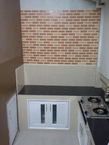 faux brick DIY review (11)