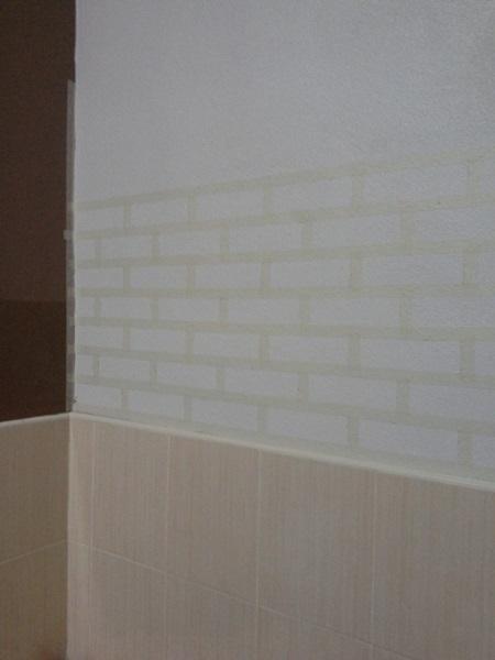 faux brick DIY review (6)