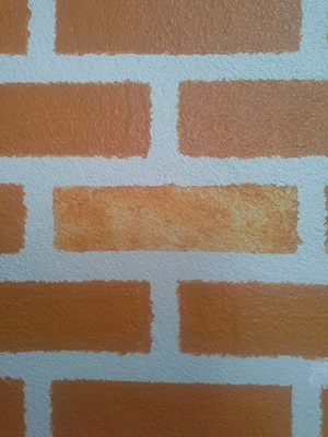 faux brick DIY review (8)