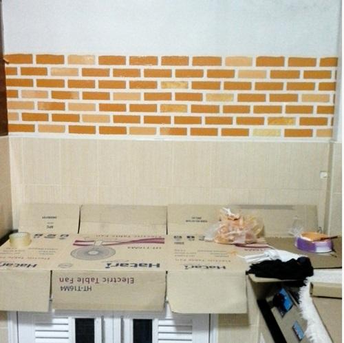 faux brick DIY review (9)