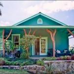 บังกะโลสีเขียว ในดีไซน์ที่เรียบง่ายเป็นธรรมชาติ เหมาะสร้างเป็นบ้านพักตากอากาศ
