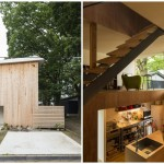 บ้านโมเดิร์นมินิมอล วัสดุจากไม้ ตกแต่งภายในแบบอบอุ่น