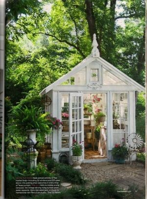 renovate old garage into white florist review (1)