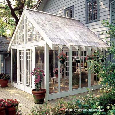 renovate old garage into white florist review (2)