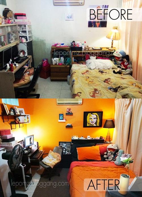 renovate orange bedroom review (43)